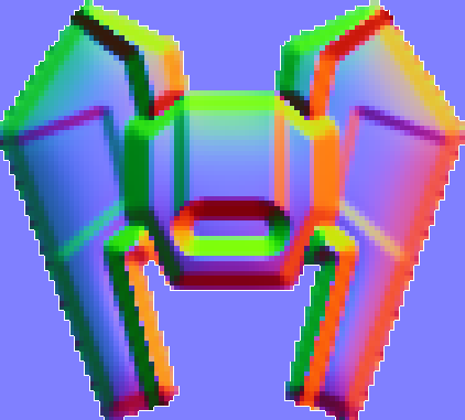 Sprite's normal map